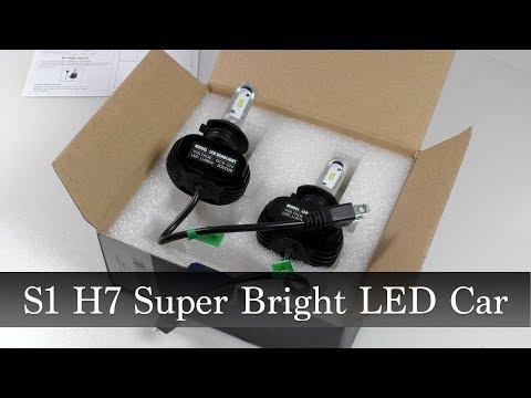 Светодиодные лампы ближнего света S1 H7 Super Bright LED Car Headlight
