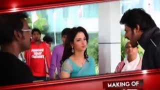 Making of rebel - Prabhas , Tamanna, Deeksha Seth