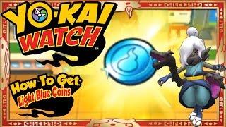 getlinkyoutube.com-Yo-Kai Watch - How To Get Infinite Light Blue Coins & RARE Shadow Venoct EASY! [Tips & Tricks]