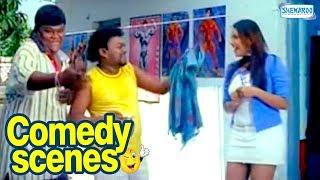 getlinkyoutube.com-Kannada Hasya - Priya Is Impressed - Rakshita - Kannada Best Comedy Scenes