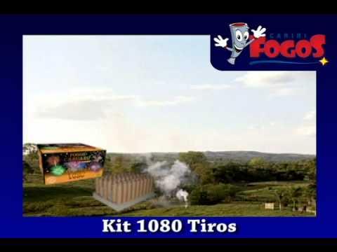 Kit 1080 Tiros - Cariri Fogos