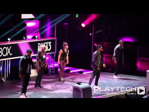 "Playtech TV: Dance Central 3 feat Usher - ""Scream"" (Live Performace) E3 2012 XBOX Media Briefing"