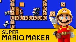 getlinkyoutube.com-Super Mario Maker - Dangerous Depths