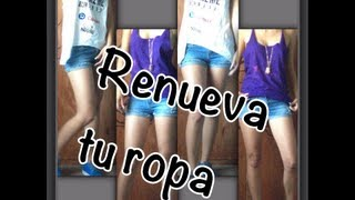 getlinkyoutube.com-DIY ♥ Renueva tu guarda ropa