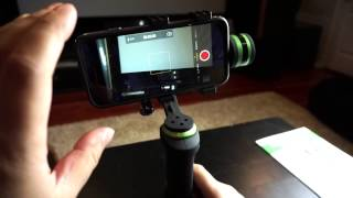 getlinkyoutube.com-Lanparte HHG-01 Handheld 3-Axis Gimbal Stabilizer Review and Comparison