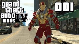 getlinkyoutube.com-Let's Mod GTA IV #001 - Iron Man