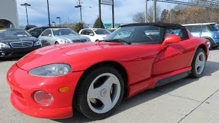 getlinkyoutube.com-1993 Dodge Viper RT/10 Roadster Start Up, Exhaust, and In Depth Review