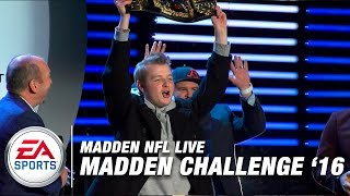 getlinkyoutube.com-2016 Madden Challenge Championship Gameplay (Xbox One) | Madden NFL Live