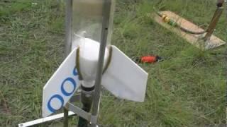 getlinkyoutube.com-Water Rocket Alternative Fuels