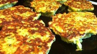getlinkyoutube.com-Fried Zucchini Recipe- Zucchini Fritters.  YUM!!