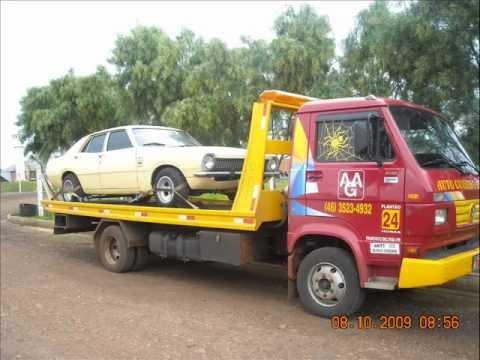 carros guinchados, acidentados ou não