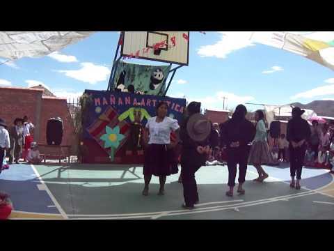 Inauguracion del nuevo colegio de vitichi potosi bolivia Part7