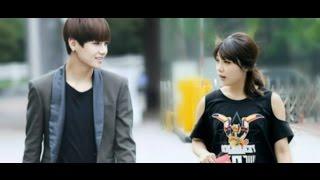 getlinkyoutube.com-BTS V (Taehyung)  and APink Jung Eunji - I'm in Love