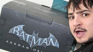 Batman Arkham Origins Collector's Edition Unboxing