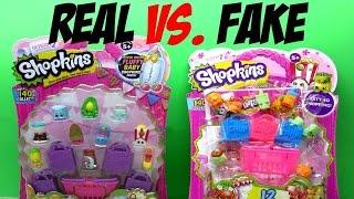 getlinkyoutube.com-Fake Shopkins vs. Real Shopkins Pack - Real vs. Fake Toys