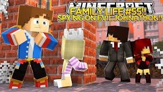 getlinkyoutube.com-FAMILY LIFE #55 - SPYING ON EVIL JOHNATHON!! - Little Donny & Baby Leah Minecraft Custom Roleplay.