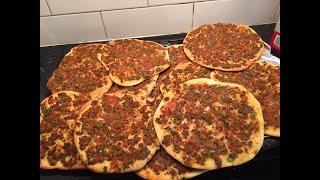 لحم بعجين الموصليه  الشهيرة  على طريقه  الشيف عامر