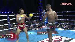 getlinkyoutube.com-YOKKAO 9 China: Fang Bian vs Carl N'Diaye - K-1 rules