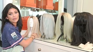 getlinkyoutube.com-Kylie Jenner Shows Off Her Wig Collection & Gives Tour Of Glam Room