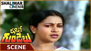 getlinkyoutube.com-Ragile Gundelu Movie || Climax Scene || Mohan Babu, Radhika || Shalimarcinema