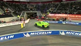 getlinkyoutube.com-Race of Champions 2011- show michelin supercars