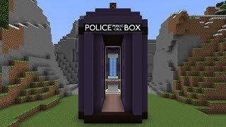 getlinkyoutube.com-Doctor Who's TARDIS in Minecraft - it's bigger on the inside!