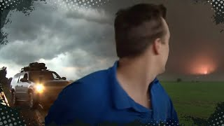 getlinkyoutube.com-VIDEO INSIDE A TORNADO!!!  Aurora, NE Tornado, June 17, 2009