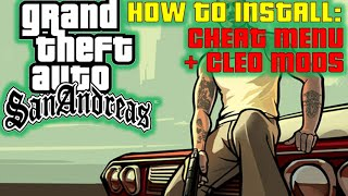 getlinkyoutube.com-How to install Cheat Menu Mod and Cleo Into Gta San Andreas! (ENGLISH)