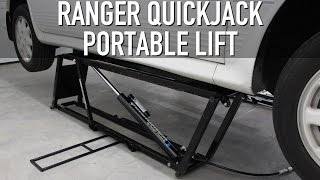 getlinkyoutube.com-My New Ranger QuickJack Portable Lift