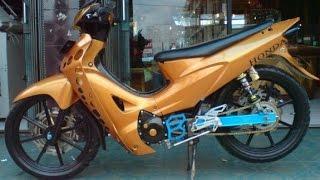 getlinkyoutube.com-Motor Trend Modifikasi | Video Modifikasi Motor Honda Karisma Velg Racing Terbaru