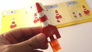 getlinkyoutube.com-Step-by-step: How to build a Lego Red Rocket - Lego Classic 10693 (2015)