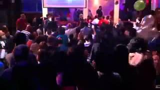 getlinkyoutube.com-Extended Version! Chris Brown Vs Drake Fight at WIP NYC