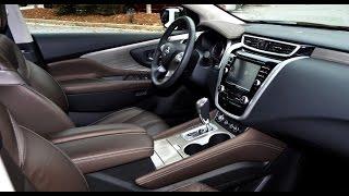 getlinkyoutube.com-2015 Nissan Murano Platinum AWD Interior overview