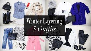 getlinkyoutube.com-5 Winter Layering Outfit Ideas | ANN LE