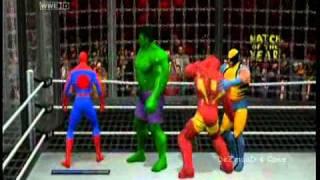 getlinkyoutube.com-DeZmonD's Caws SVR11 - Marvel All Star Elimination Chamber