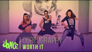 getlinkyoutube.com-Worth It - Fifth Harmony - FitDance - 4k | Coreografía