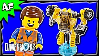 getlinkyoutube.com-Lego Dimensions EMMET Fun Pack 3-in-1 Build Review 71212