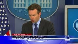 Inmigración al día / Reacciones desde la Casa Blanca sobre nueva ola de deportaciones