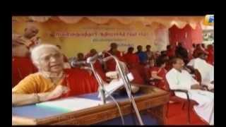 Kanniyakumari District SakthiPeetam - Thirumathi AMMA's Speech