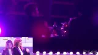 getlinkyoutube.com-BEAST During Apink LUV+Mr.Chu @ 150122 Seoul Music Awards