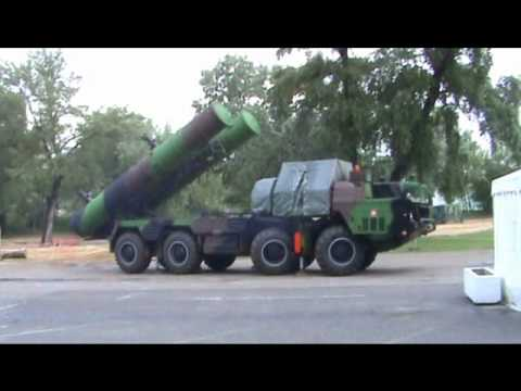 S-300 air defense missile system Slovak army Slovakia firing position IDEB 2010