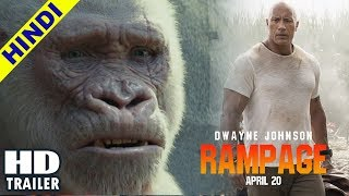 Rampage - Trailer (Hindi Dubbed) 2018