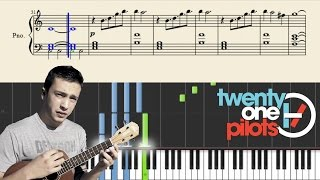 getlinkyoutube.com-twenty one pilots: Can't Help Falling In Love (PlaintivePiano) - EASY Piano Tutorial
