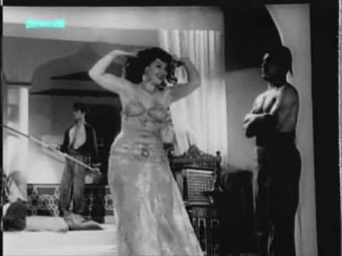 Famous Turkish Oriental (belly dancer) Nergis Mogol , 1954