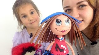 getlinkyoutube.com-Видео для девочек. Кукла фофуча Кати. Игрушки для девочек.