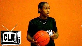 getlinkyoutube.com-Jashaun Agosto HAS BOUNCE - Crazy Athlete Goes Off at John Lucas Camp