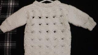 getlinkyoutube.com-Como Tejer Suéter Con Punto Cruzado Parte 1 de 2 - con Ruby Stedman