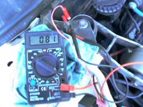 Где у Saab 9-5 датчик кислорода