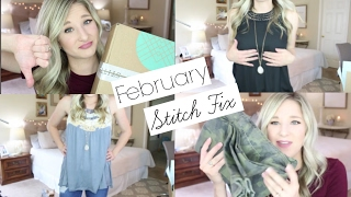 getlinkyoutube.com-Stitch Fix Unboxing and Try On February 2017 | HUGE. FAIL.