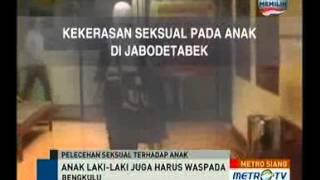 Anak di Indonesia Terancam Kekerasan Seksual